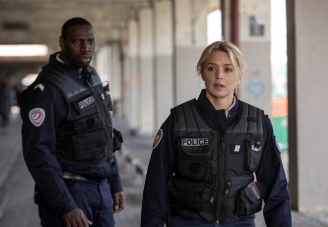 Omar Sy, Virginie Efira in Police   Night Shift by Anne Fontaine