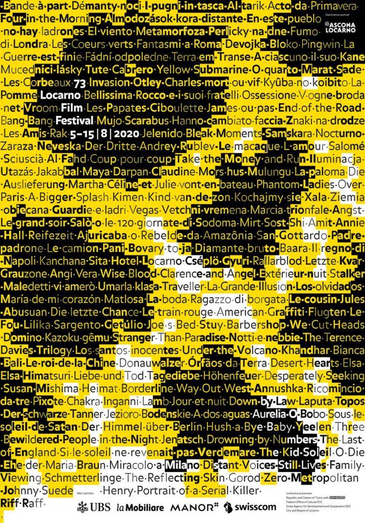 73rd Locarno Film Festival Poster