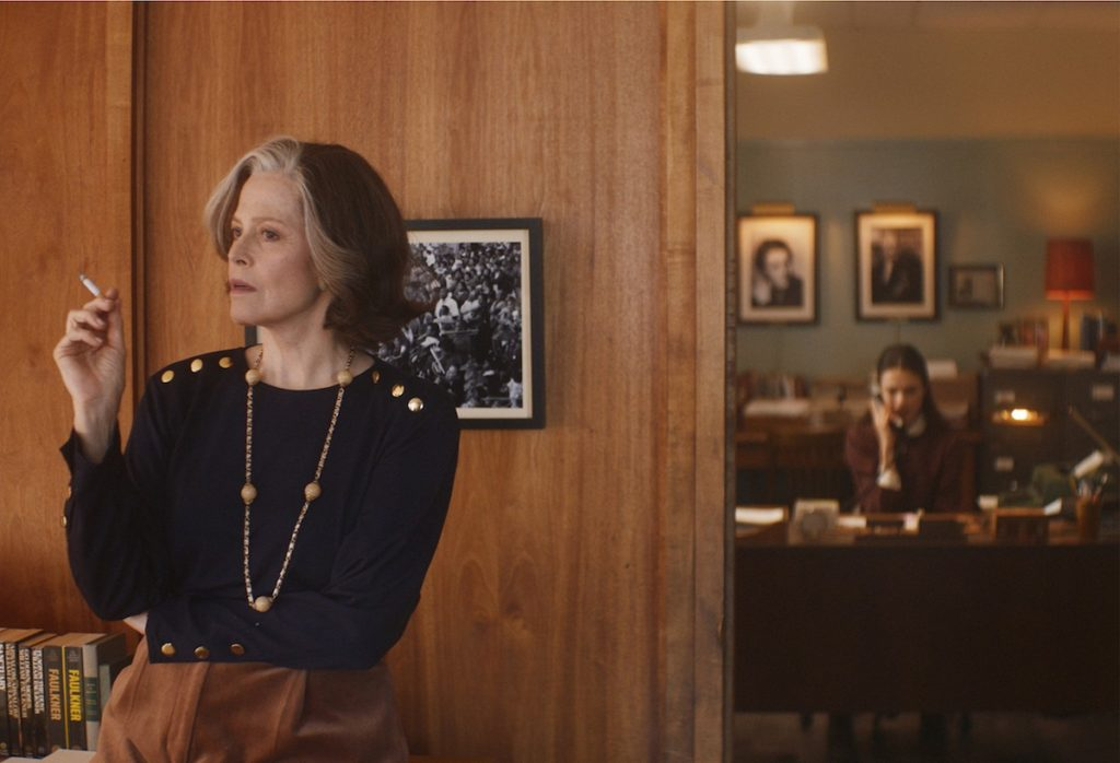 Sigourney Weaver, Margaret Qualley in My Salinger Year by Philippe Falardeau