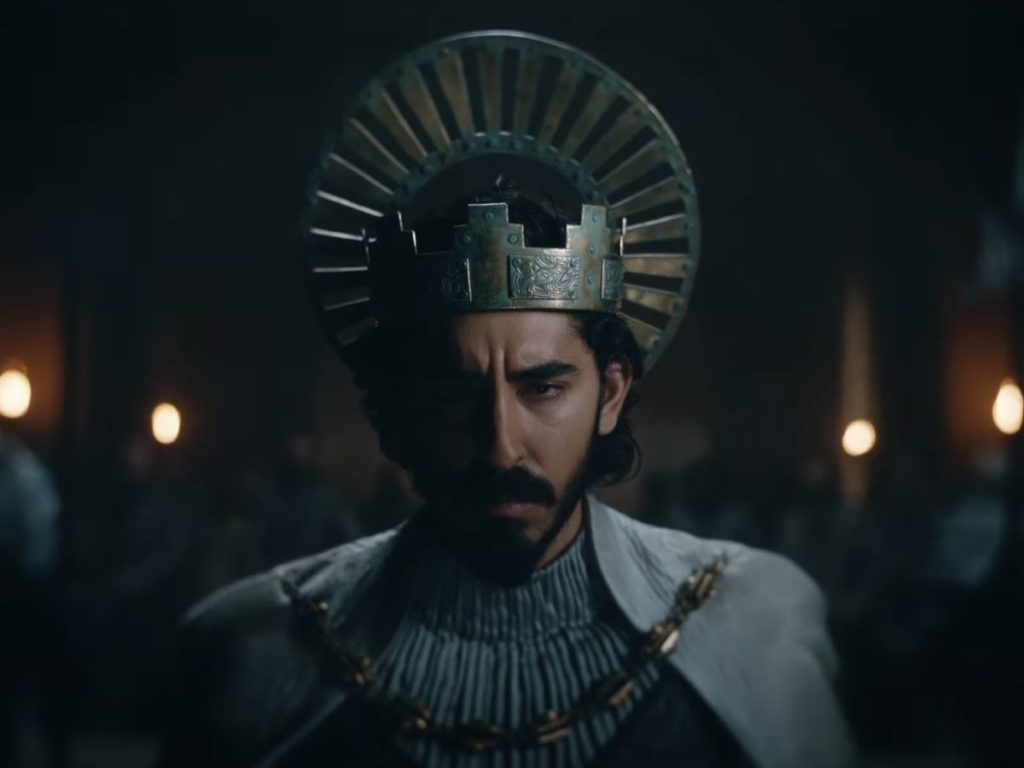 David Lowery's THE GREEN KNIGHT starring Dev Patel