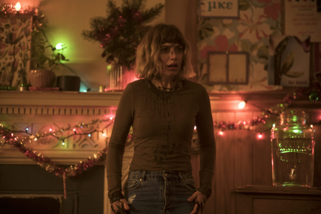 "Imogen Poots as Riley in ""Black ChristmaS"" directed by Sophia Takal."