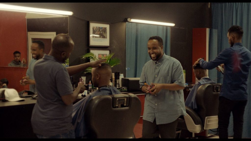 """Q's Barbershop"" directed by Emil Langballe"