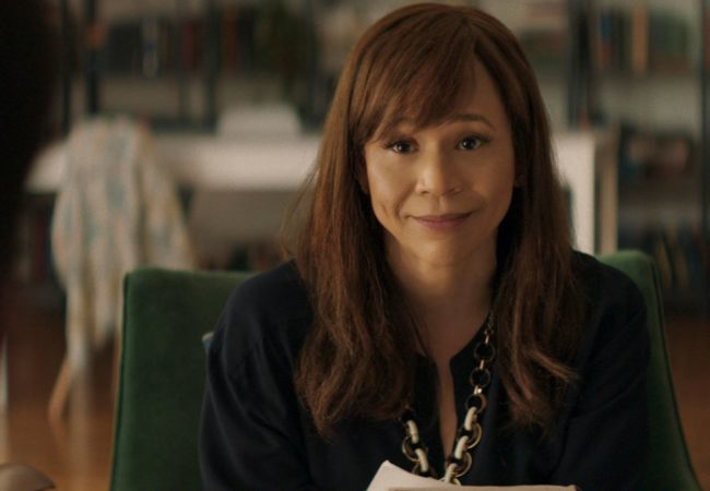 Rosie Perez stars as a tough love shrink in INSIDE THE RAIN