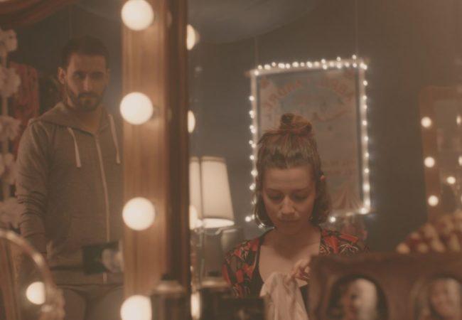Oscar Meza and Vania Accinelli star in The Catch (El Salto), directed by Thais Drassinower. Photographer: Mario Bassino