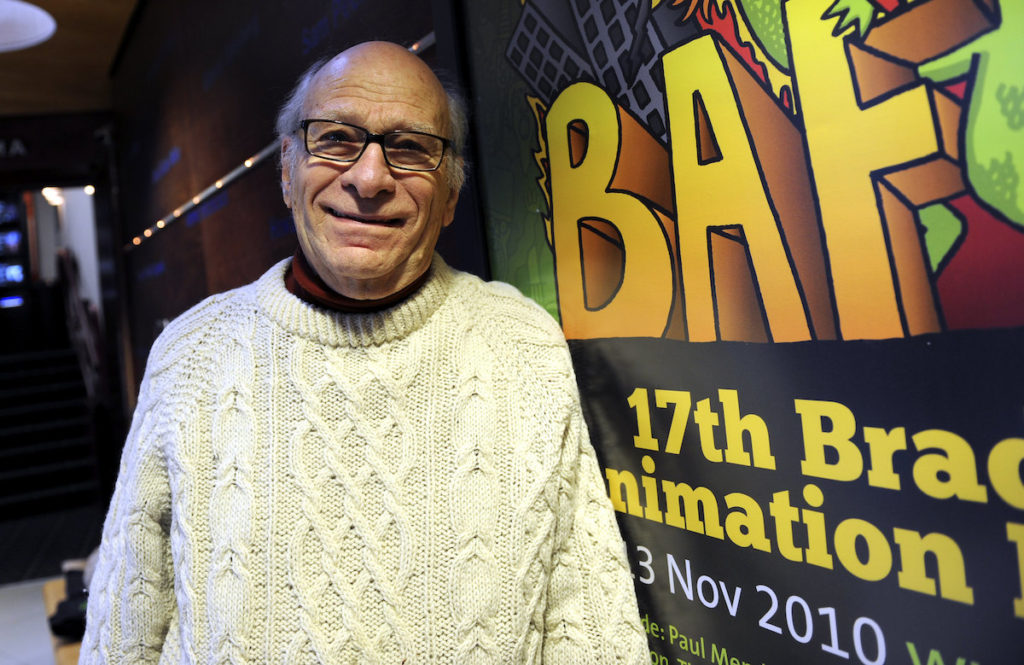 Gene Deitch at Bradford Animation Festival 2010