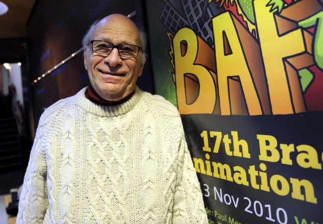 Gene Deitch at Bradford Animation Festival 2010 [National Science and Media Museum]