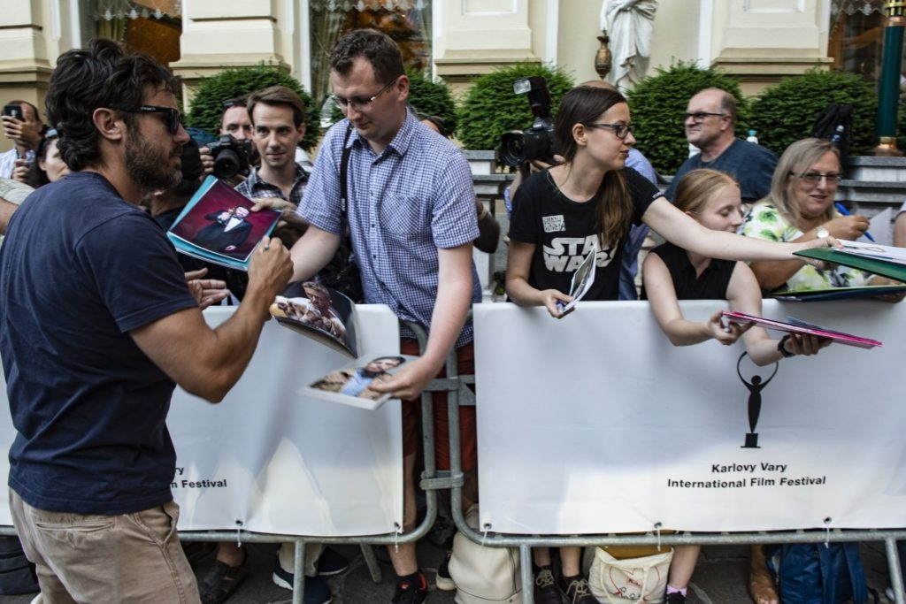 Actor Casey Affleck at Karlovy Vary International Film Festival