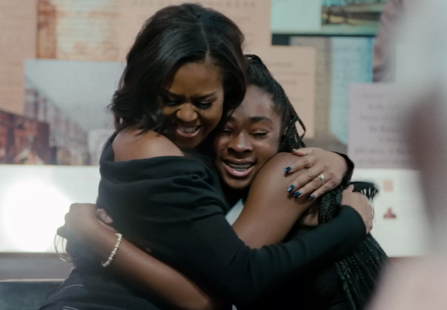 Netflix Releases Full Trailer for BECOMING, Michelle Obama Documentary