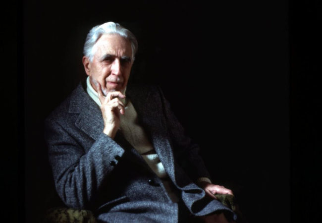 Lifeline: Clyfford Still. Clyfford Still photographed by Sandra Still Campbell, courtesy of the Clyfford Still Archives