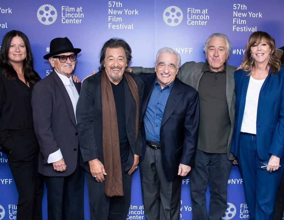 The Irishman world premiere at the 57th New York Film Festival. Photo by Julie Cunnah.