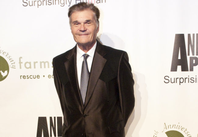 Fred Willard at the Farm Sanctuary 25th Anniversary Gala in New York City