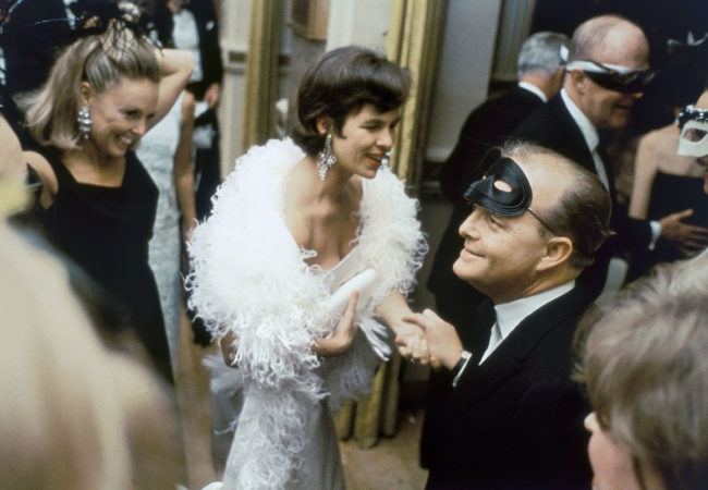 "The Capote Tapes. USA. New York City. 1966. Truman CAPOTE at his ""Black and White Ball"" at the Plaza Hotel."