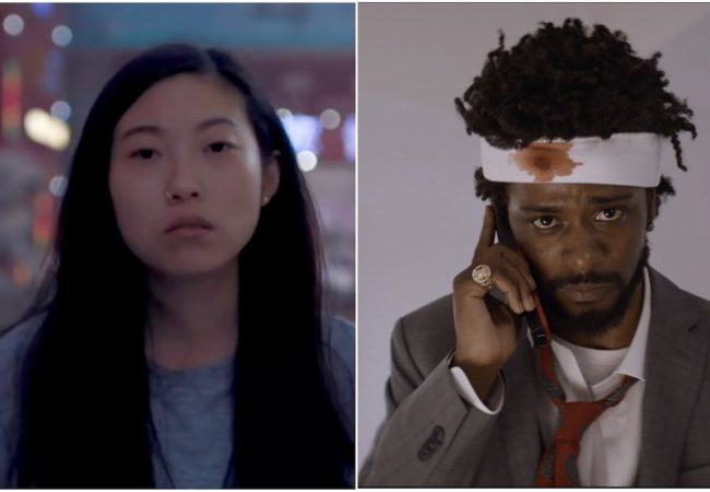"Awkwafina – ""The Farewell"" and Lakeith Stanfield – ""Sorry to Bother You"""