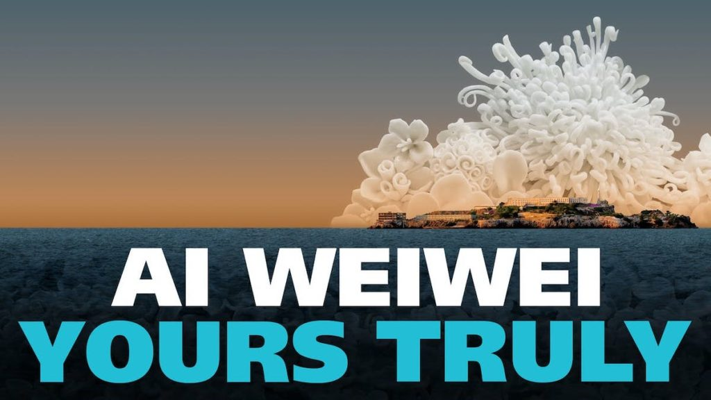 """Ai Wei Wei"""" Yours Truly by Cheryl Haines"""