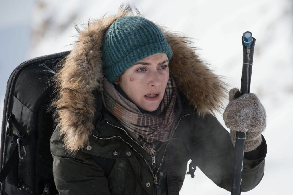Kate Winslet in The Mountain Between Us