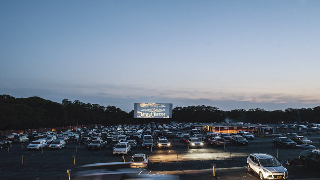 Drive-in Theater - The Wellfleet Drive-In Theatre opened in 1957- Massachusetts Office of Travel & Tourism