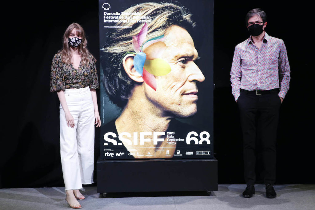 Willem Dafoe Featured on poster of San Sebastian Festival's 68th edition