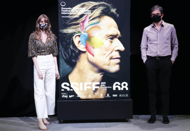 Actor Willem Dafoe Featured on Poster of San Sebastian Festival's 68th edition