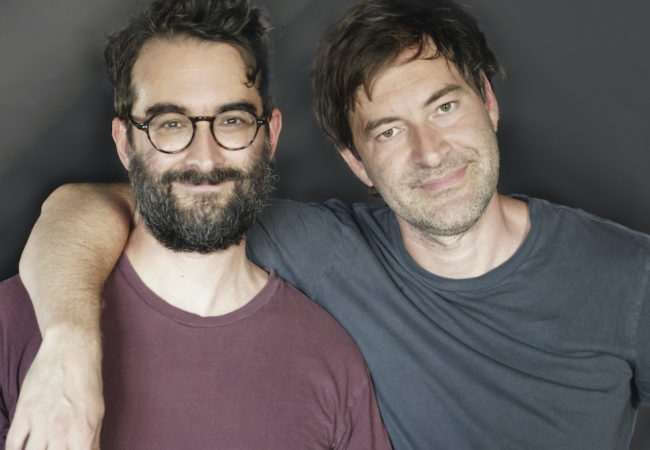 Brothers Jay (left) and Mark Duplass