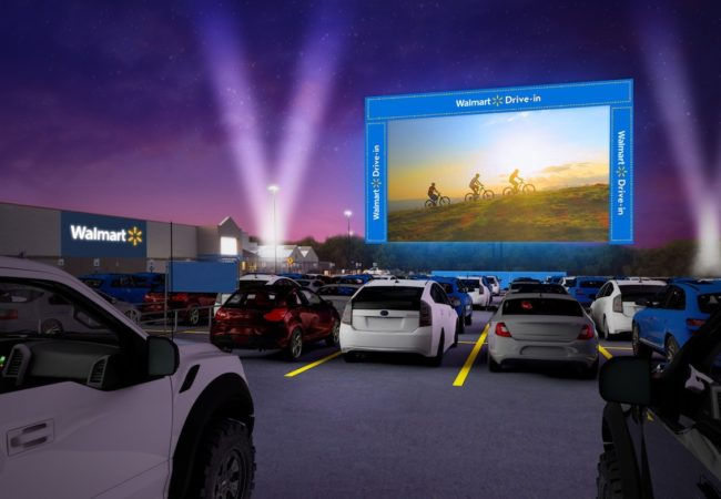 Walmart Brings Drive-In Movies to Its Parking Lots