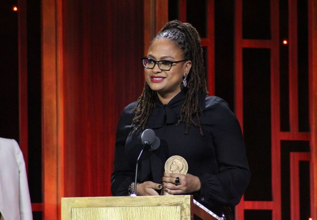 Ava DuVernay from 13th accepting her award during The 76th Annual Peabody Awards Ceremony at Cipriani, Wall Street on May 20, 2017 in New York City.