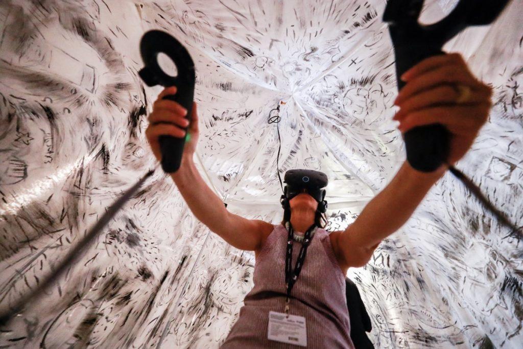 Virtual Reality Works of Venice Film Festival