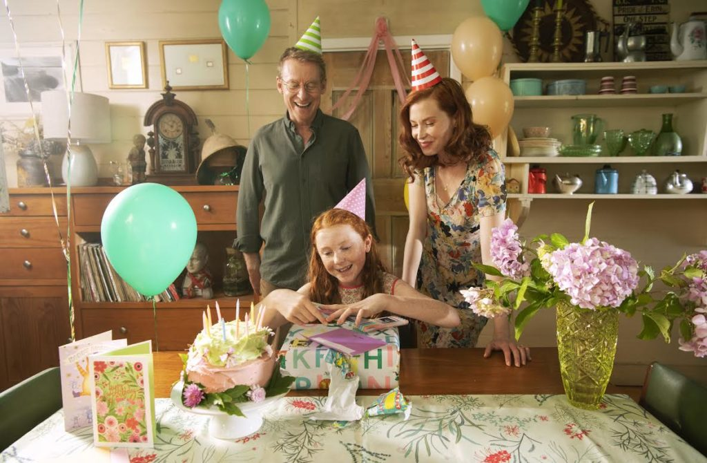 Richard Roxburgh (as Dad), Daisy Axon (as Candice), & Emma Booth as (Mum), H is for Happiness
