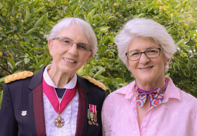 SURVIVING THE SILENCE. Colonel Pat Thompson and Barbara Brass