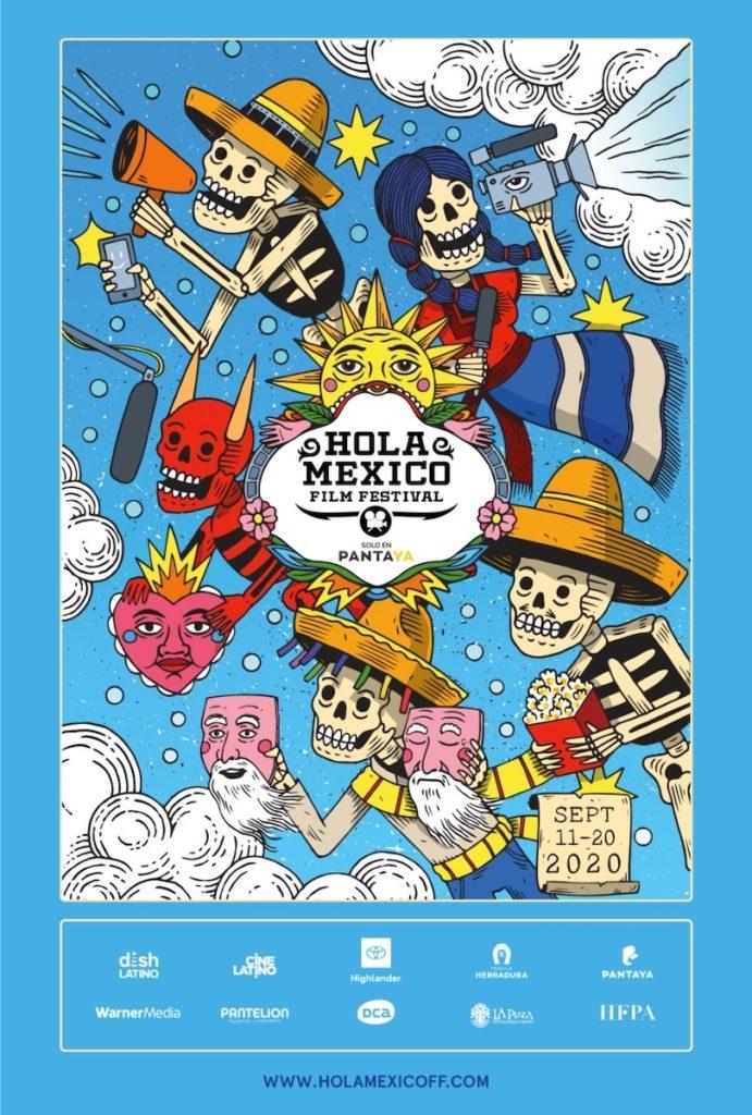 Hola México Festival 2020 Poster