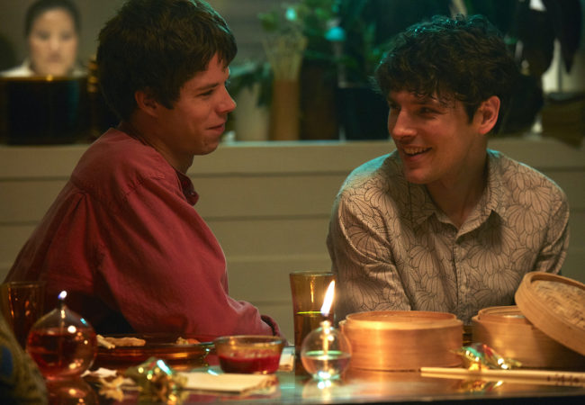 Benjamin directed by Simon Amstell, and starring Colin Morgan