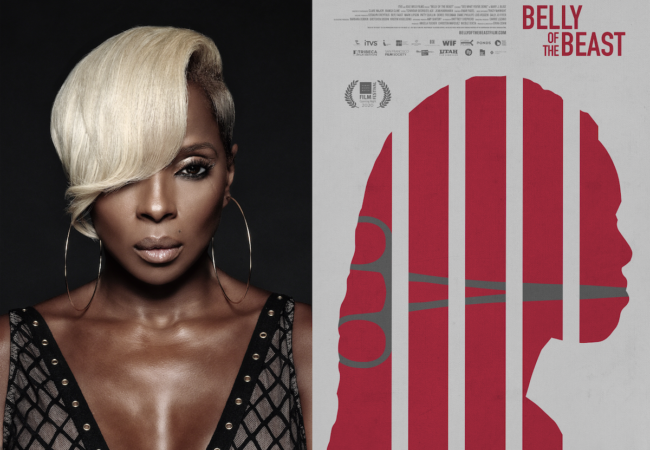 Watch Documentary 'BELLY OF THE BEAST' Trailer Featuring New Mary J. Blige Song