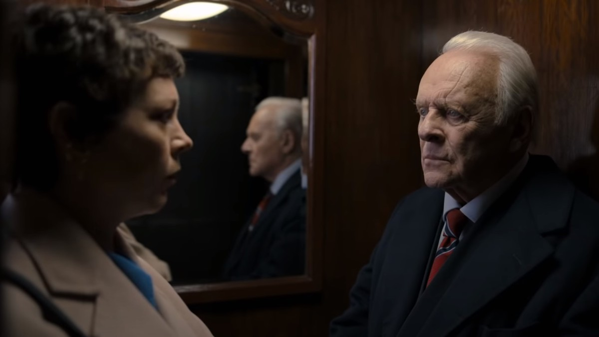 THE FATHER Starring Olivia Colman And Anthony Hopkins