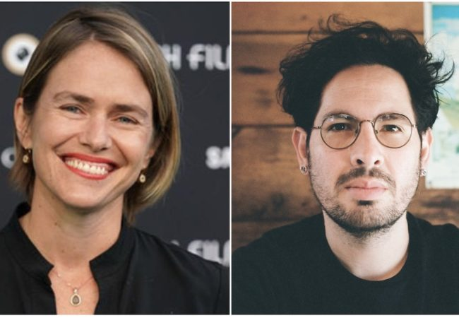 (l to r) Juliana Fanjul and Roberto Escamilla Win Hola Mexico Film Festival's 2020 Awards