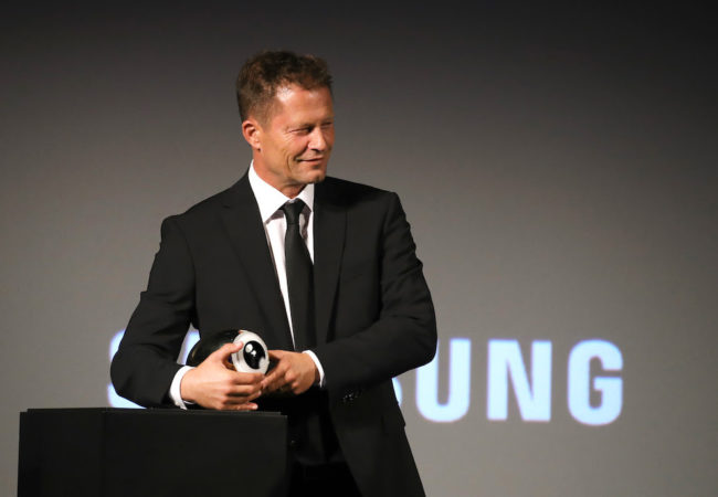 German Actor and Director Til Schweiger Received Golden Eye Award at Zurich Film Festival ©Andreas Rentz/Getty Images for Zurich Film Festival