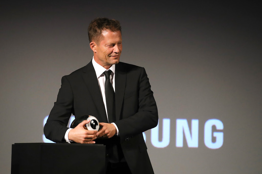 German Actor and Director Til Schweiger Received Golden Eye Award at Zurich Film Festival