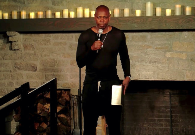 "Dave Chappelle ""8:46"""