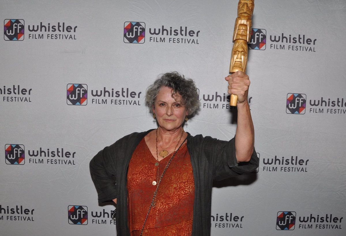 Actress Gabrielle Rose receives award at Whistler Film Festival
