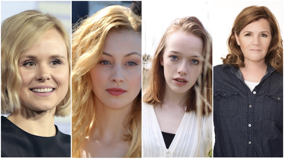 Alison Pill, Sarah Gadon, Amybeth McNulty and Mare Winningham