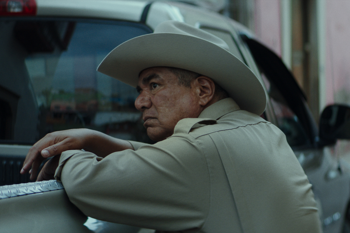 """George Lopez as """"Ramírez"""" in Conor Allyn's NO MAN'S LAND. Courtesy of IFC Films. An IFC Films Release."""