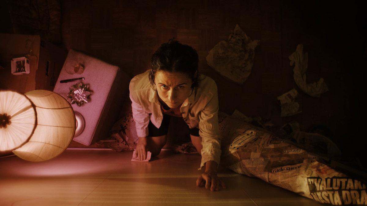 Cecilia Milocco appears in Knocking by Frida Kempff.