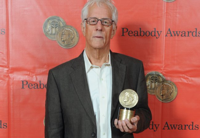 Michael Apted at the 72nd Annual Peabody Awards