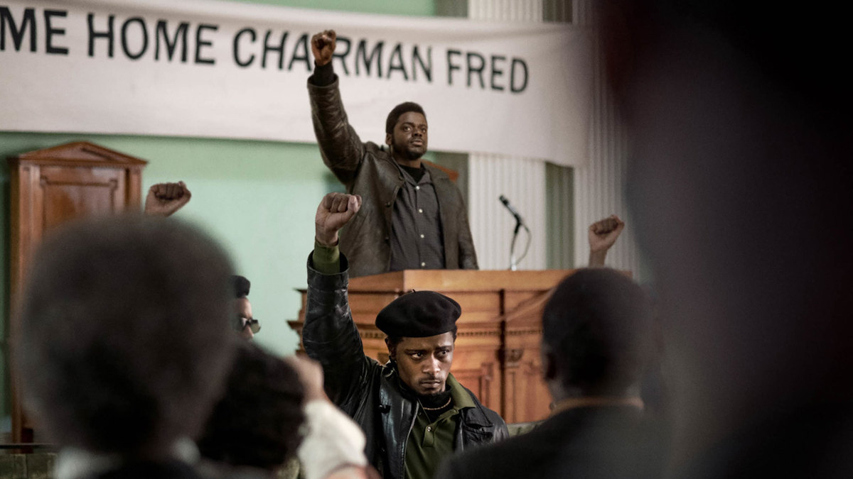Lakeith Stanfield and Daniel Kaluuya appear in Judas and the Black Messiah by Shaka King