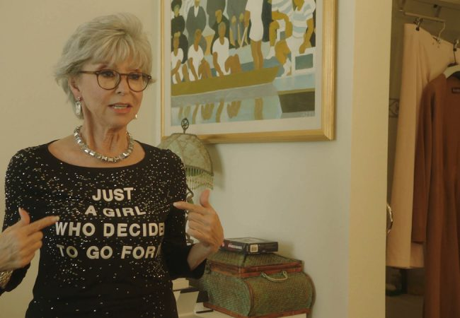A still from Rita Moreno: Just a Girl Who Decided to Go For It by Mariem Pérez Riera, an official selection of the U.S. Documentary Competition at the 2021 Sundance Film Festival. Courtesy of Sundance Institute.
