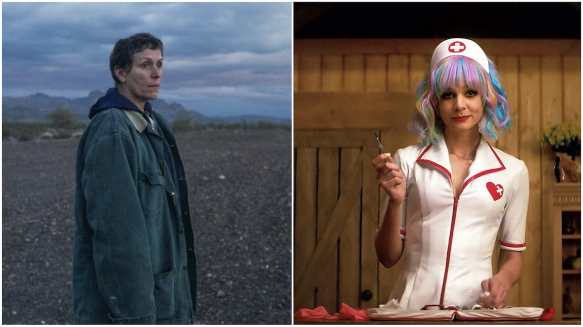 'Nomadland' and'Promising Young Woman'