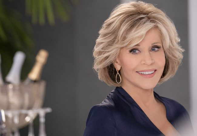 "Jane Fonda in ""Grace and Frankie"""