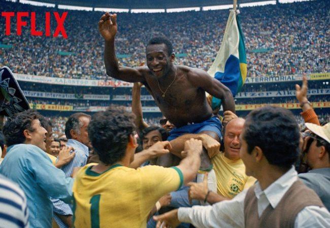 """Pelé"" directed by David Tryhorn and Ben Nicholas (Netflix)"