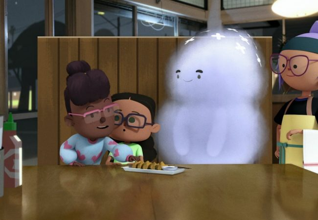 "Elizabeth Ito's Netflix animated series ""City of Ghosts"""