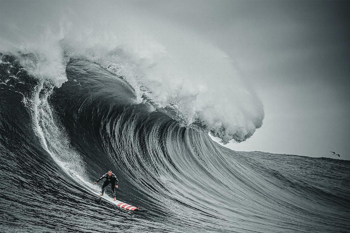 100 FOOT WAVE featuring surfing pioneer Garrett McNamara