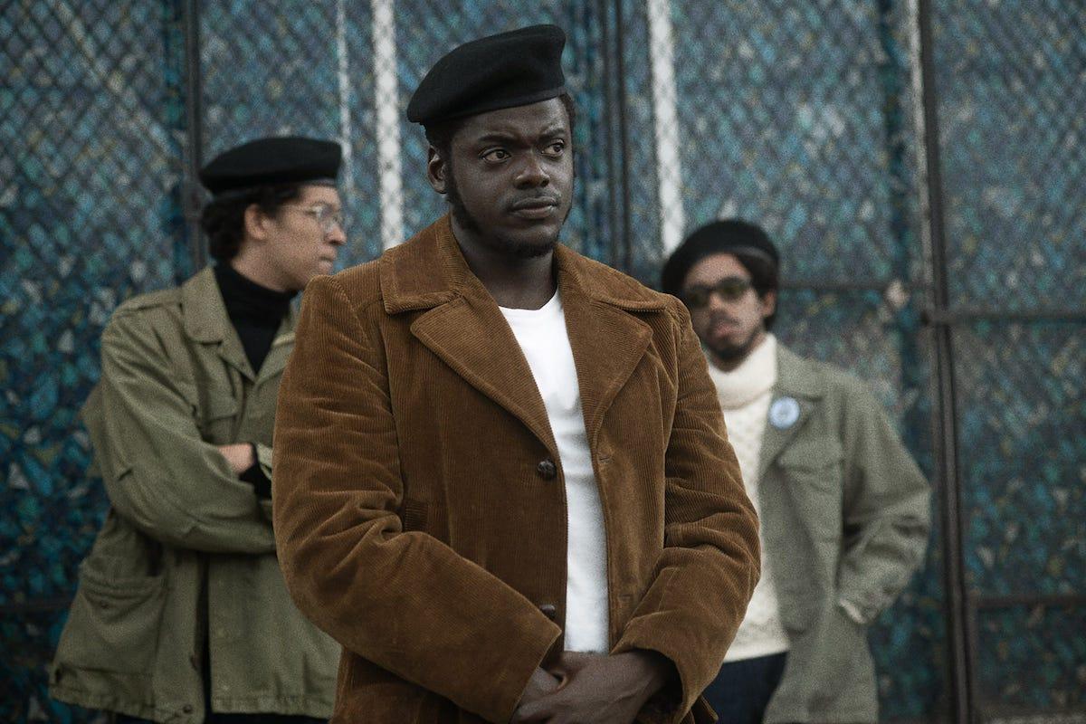 "Daniel Kaluuya stars as Black Panther leader Fred Hampton in ""Judas and the Black Messiah."""
