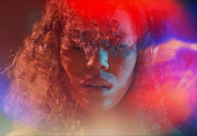 Sound Of Violence. Alexis (Jasmin Savoy Brown) experiencing synesthesia. | Credit: You Know Films/No Office Films)
